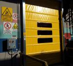 porte rapide ad impacchettamento velo pack atex - high speed fold up doors velo pack atex 1